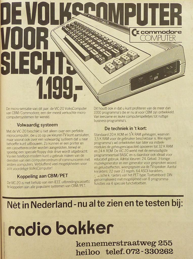 1982 Radio Bakker