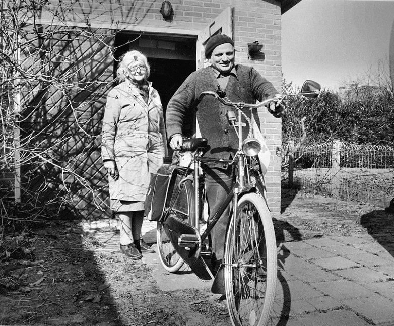 1985 Snip met fiets