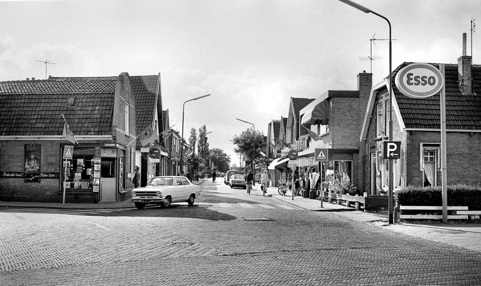 Het Stationscentrum van Heiloo in 1975