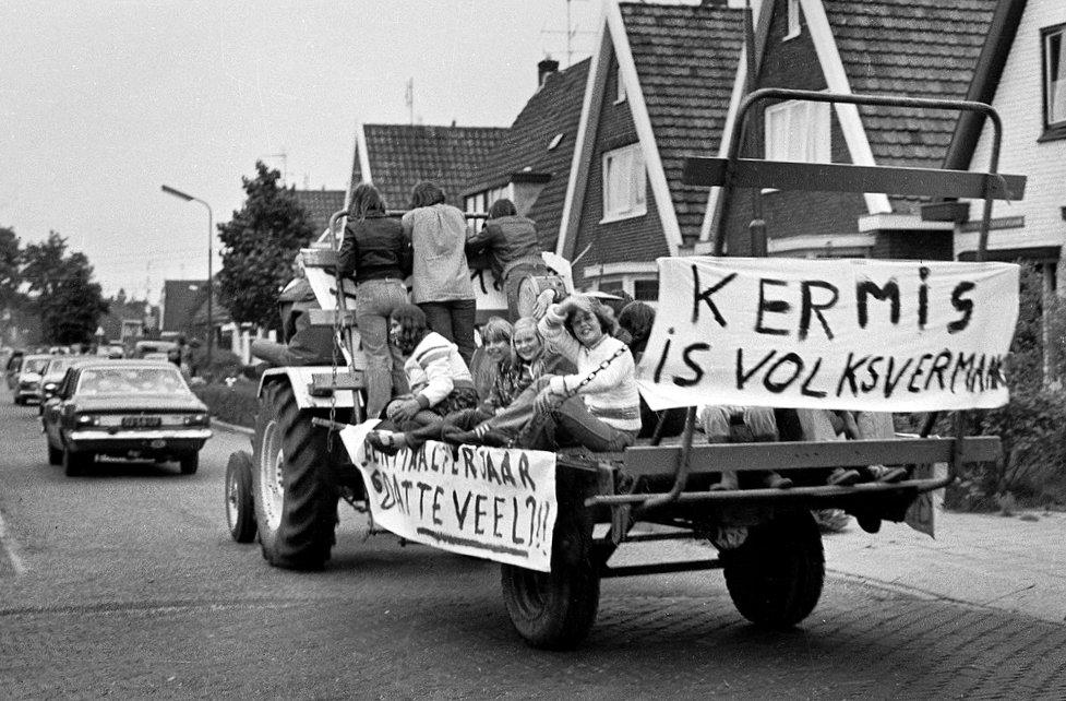 1977 protest kermis heiloo