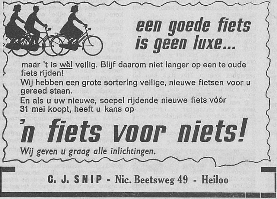snip advertentie