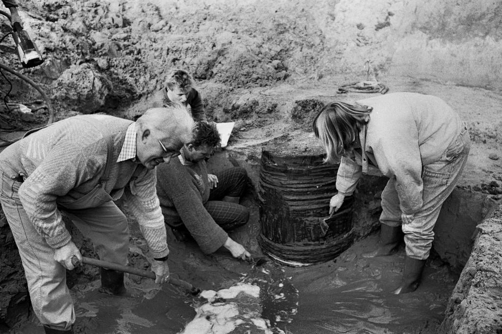 1988 opgraving Raadhuisweg 2 pro
