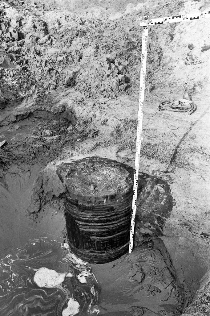 1988 opgraving Raadhuisweg 6 pro