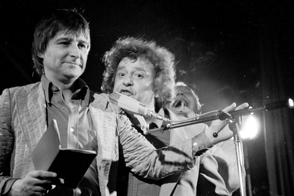14) 1983 Poetry-avond met Wim T. Schippers, Johnny van Doorn, Simon Vinkenoog